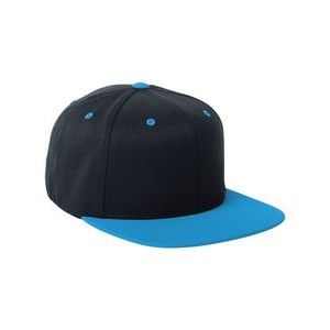 72848a5188560 Yupoong Adult Wool Blend Snapback Two-Tone Cap
